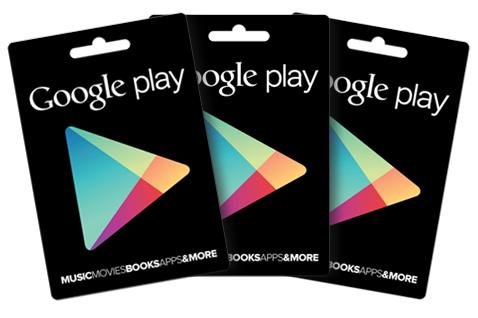 Google Playギフトコードの額面を説明