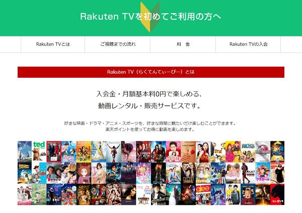 Rakuten TVでキャリア決済を利用する手順